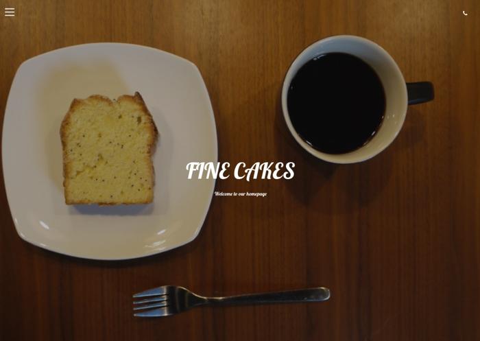 焼き菓子 FINE CAKES