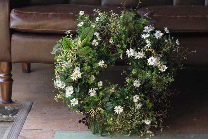 アトリエajisaiさんのホームページのお花