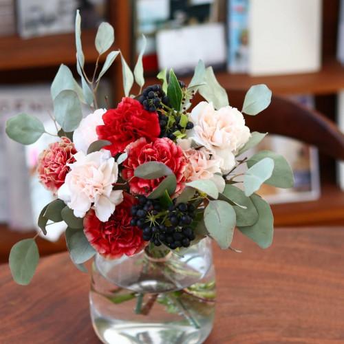 花蕾~karai fleuriste~のホームページ